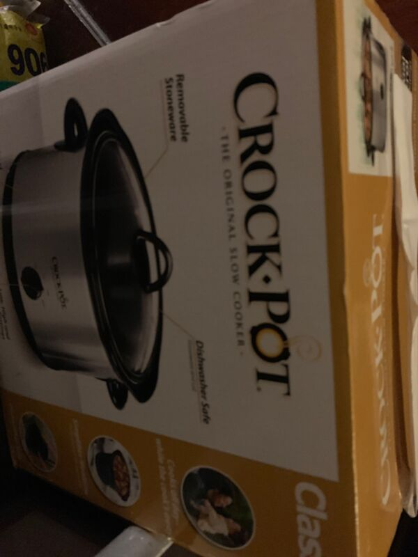 Crock-Pot 4.5-Qt. Manual Slow Cooker Stainless SCR450-S