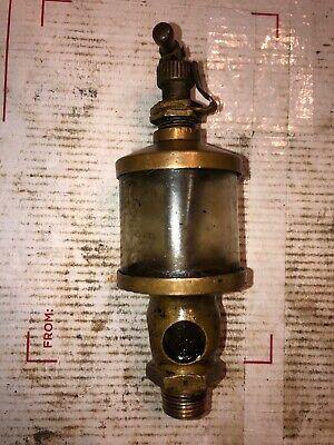 Brass Engine Oiler Size 1-12 4 Window Sight Hit Miss Stationary Engine