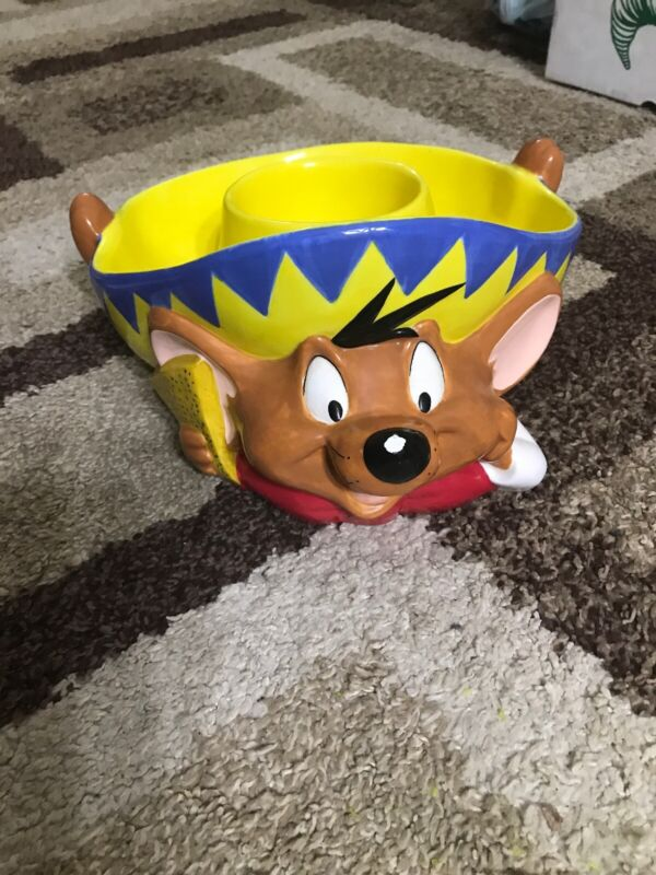 Speedy Gonzales Gonzeles Salsa Chip Bowl Exclusive Warner Brothers Bros AA153