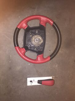 New Ford BA BF XR6 XR8 Momo steering wheel and Shifter Farley Maitland Area Preview