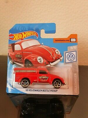 Hot Wheels 2019 '49 VW Beetle Pickup  *47/250 HW Volkswagen *9/10 FYF78 Red