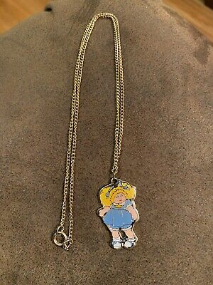 Cabbage Patch Kids Necklace - Costume Jewelry - Vintage 1983](Cabbage Patch Kids Costume)