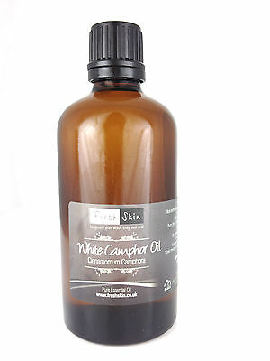 100ml White Camphor Pure Essential Oil