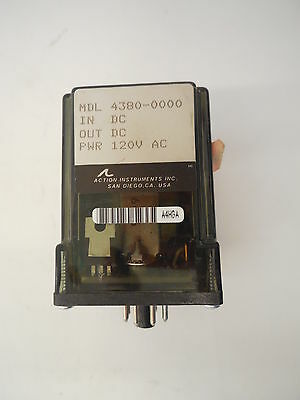 Used Action Pak 4380-0000 Signal Conditioner 120v 43800000