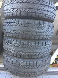 4-205/55R16 Bfgoodrich winter tires