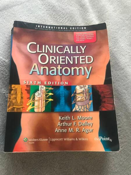 Clinically Oriented Anatomy 6th Edition | Textbooks | Gumtree ...