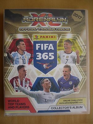 16/17 PANINI (2017) - ADRENALYN XL FIFA 365 TRADE CARDS - ANY 50 CARDS - UPDATED