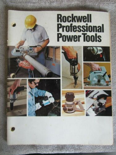 Vintage 1981 Rockwell Professional Power Tools AD-4060 5YE 7/81 (17)