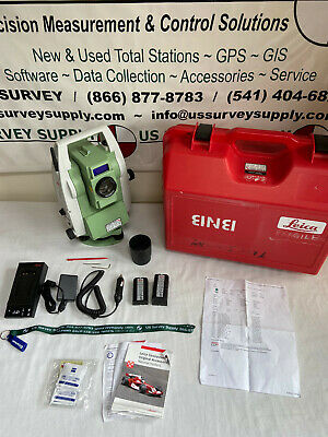 Leica Ts09plus Ultra 3 R1000 Reflectorless Total Station Loaded W Apps - Wnty