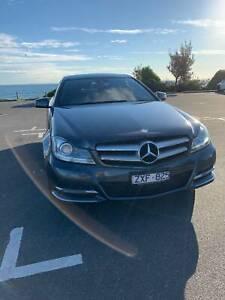2013 Mercedes-benz C250 Be 7 Sp Automatic G-tronic 2d Coupe