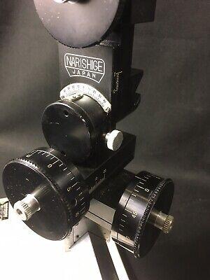 Narishige Sm-20 Stereotaxic Stereo Taxic Micromanipulator Sm20 On Ma-2 Base Ma2