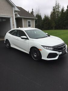 2017 Honda Civic HB.  Automatic.