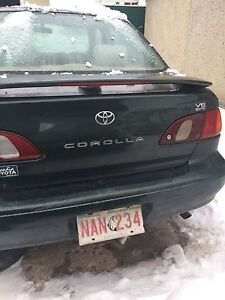 Parting out 2000 Toyota Corolla