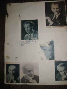 Autograph by Rafael Kubelik  (Classical Music )