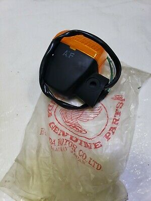 Honda NT650 Hawk LEFT REAR Directional/TurnSignal  NOS 1988 1989 1990 1991