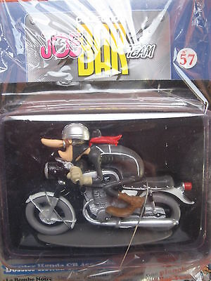 Joe Bar Team Collection Nr.57 Honda CB 450 1966 exclusif  in Folie 1:18 + Comic