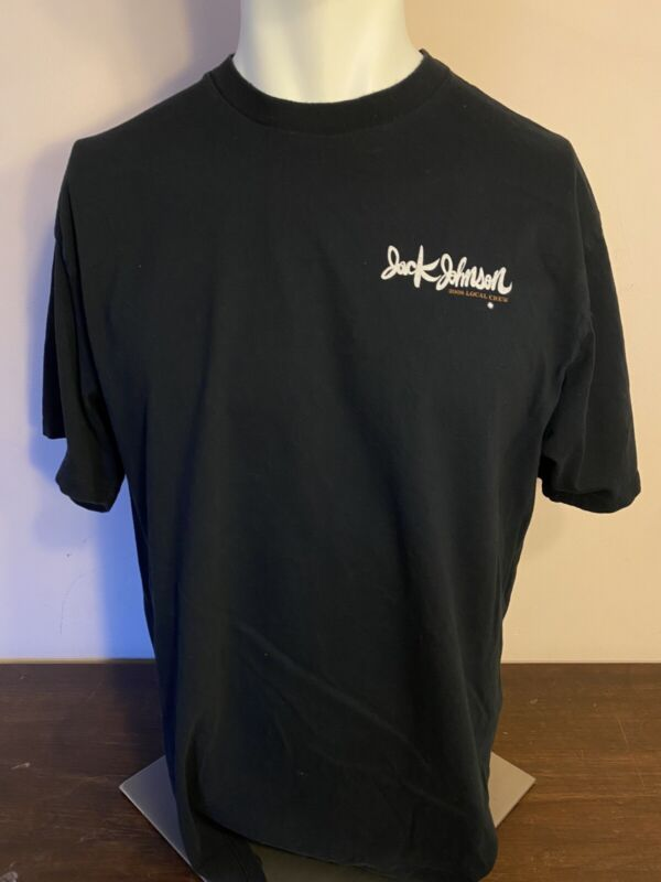 Jack Johnson North America Local Crew Shirt 2008 Tour Size XL