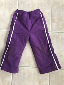 Splash pants for toddler girl 2T to 3T