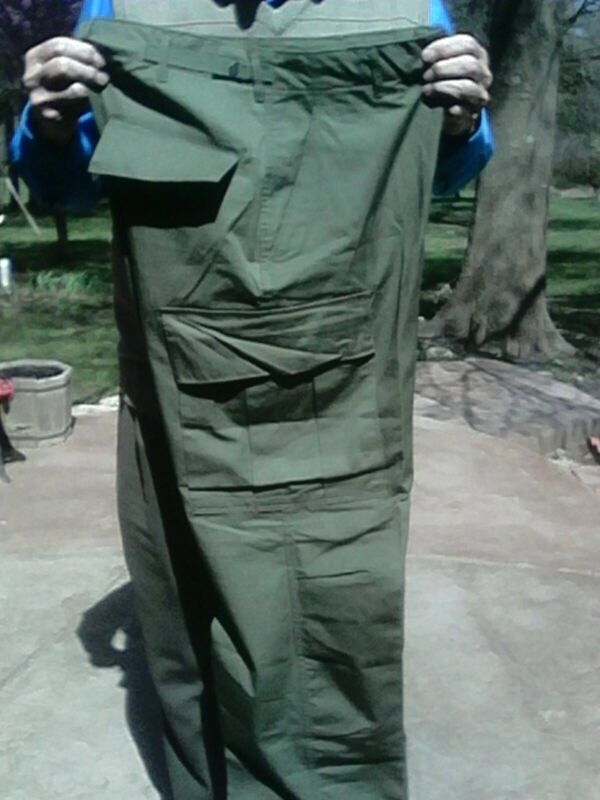 Jungle Fatigue Trousers, U.S.G.I., Small-Long, NEW, dated 1969