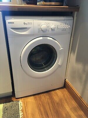 Beko Washing Machine WM6142W white - USED