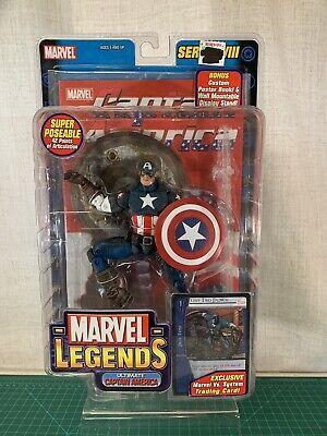NEW Marvel Legends - Captain America - Series 8 - 2004 - ToyBiz - NO RETURNS