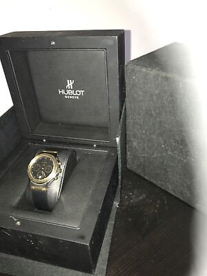 Hublot MDM Chronograph 18k Yellow Gold & Steel