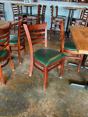 37 Used Restaurant Wooden Chairs 10 Or Best Offer