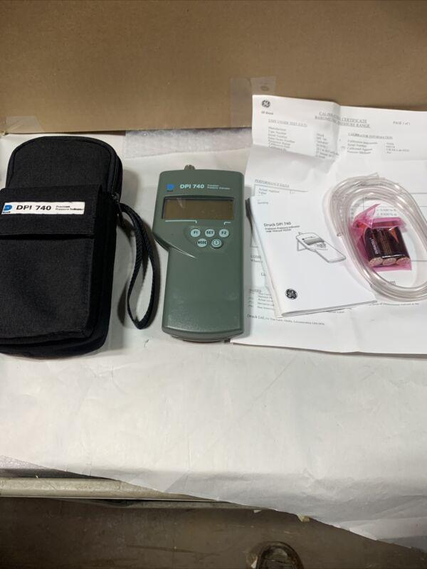 DRUCK DPI 740  Portable Precision Pressure Indicator **NEW**