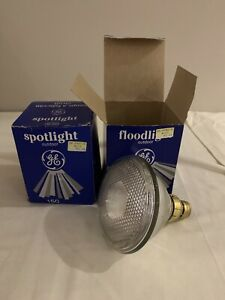 2 GE flooding spotlight bulbs