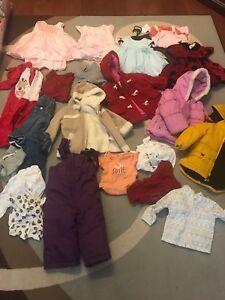 Girls clothes 12-18 months