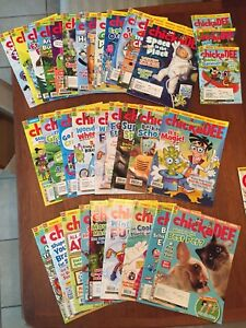 ChickaDee, OWL and Kids National Geographic comic magazines