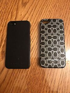 iPhone 5 Coach cases