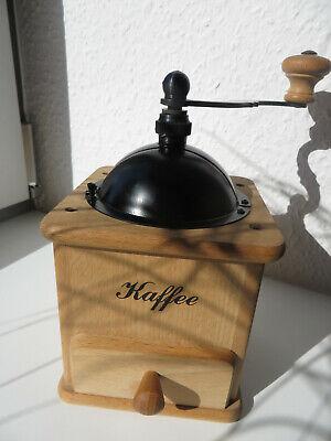 80er Jahre Retro Kaffeemühle Nr. 154 von Zassenhaus, Buchenholz,