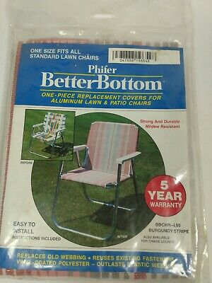 Phifer Better Bottom One Piece Replacement Cover Lawn Chair  New