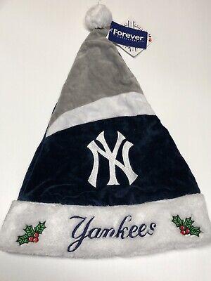 New York Yankees NY Holiday Christmas Santa Hat MLB Baseball  - Baseball Christmas
