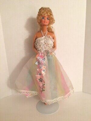 Vintage Mattel 1982 Happy Birthday Barbie Doll W/ Ring Superstar Era 80's