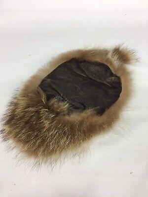 Coonskin Dan'L Boone Fur Cap Hat Child Kid Western Fashion Hat & Cap Toronto