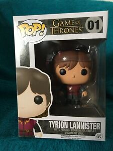 Pop! TYRION LANNISTER. (01). Game of Thrones. Caulfield East Glen Eira Area Preview