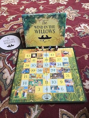 Wind in the Willows - 1997 Carlton Television Board Game for sale  Shipping to Nigeria