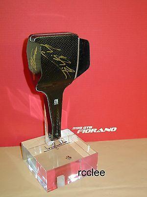 Ferrari 2005 F2005 F1 team carbon fiber paddle race used Schumacher Kimi Alonso