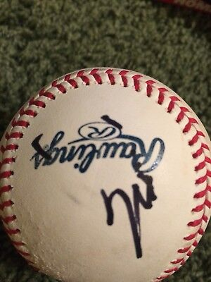 Mark Wahlberg Signed Autographed Baseball Proof Ted The Departed The Fighter
