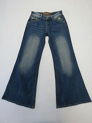 APPLE BOTTOM JEANS FLARE STRETCH DENIM JEANS SIZE 10