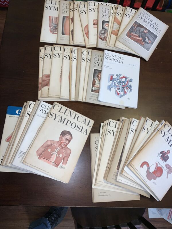 CLINICAL SYMPOSIA - Lot of 71 Copies from 1950-70s - Ciba Pharm Medical Studies