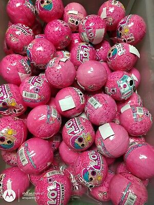 LOL Surprise dolls. Lil sister balls, partially sealed. Eye Spy series, 1 ball.
