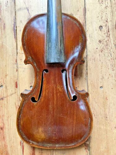Old Italian Violin ANTONIO TUNIOLI, Ferrara 1930, CERTIFICATE upon request