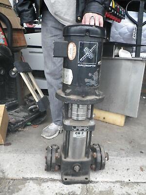 Grundfos Pump Cr2- 3hp Motor