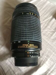 Nikon 70-300 lens