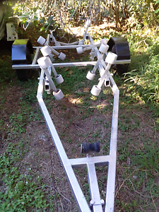 Trailer with multi roller setup & wobblies East Ipswich Ipswich City Preview