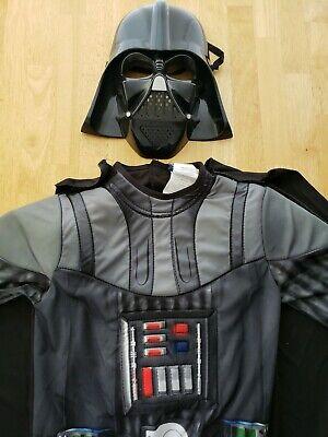 Star Wars Child's Darth Vader Costume MEDIUM BLACK HALLOWEEN
