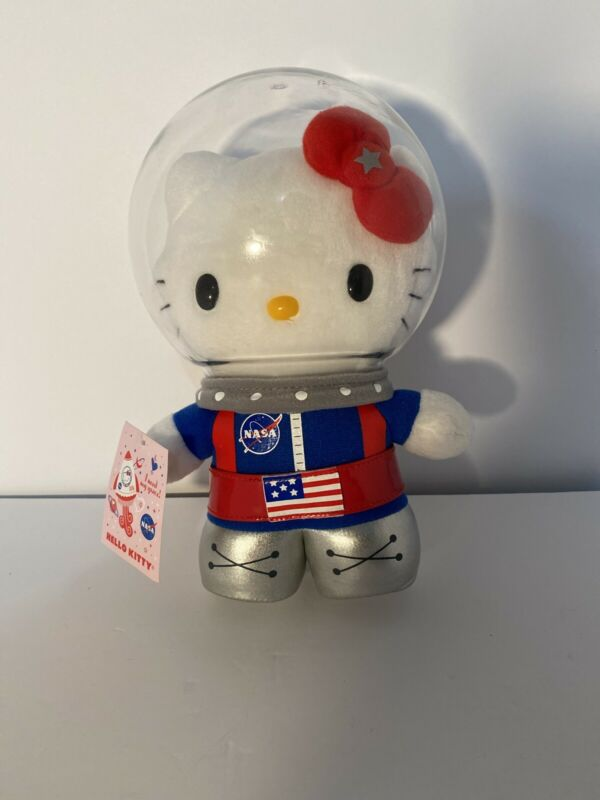 Hello Kitty 10 Inch Nasa Plush With Tag